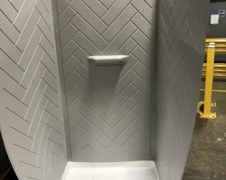 PMC formed shower